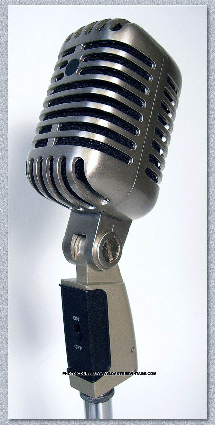 Antique Microphone